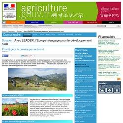 Avec LEADER, l'Europe s'engage pour le développement rural