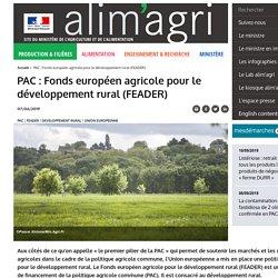 PAC : Développement rural (FEADER)