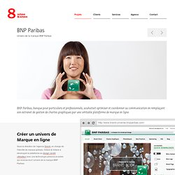 Univers de la marque BNP Paribas - BNP Paribas - Agence web paris, design et developpement application web et mobile