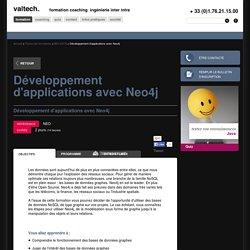 Formation - Développement d'applications avec Neo4j, cours à Paris - 7ème, Toulouse