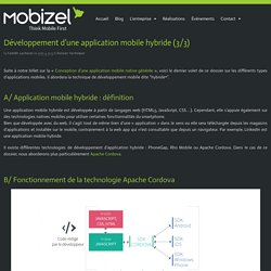 Mobizel, conception et développement d'applications mobiles et sites web à Rennes
