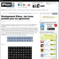 Développement iPhone : des icones gratuites pour vos application