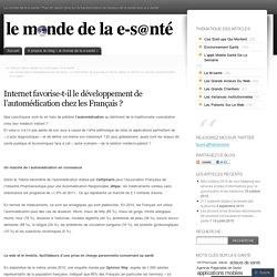 Internet favorise-t-il le développement de l'automédication chez les Français ?