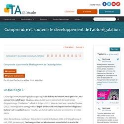 Comprendre et soutenir le développement de l'autorégulation