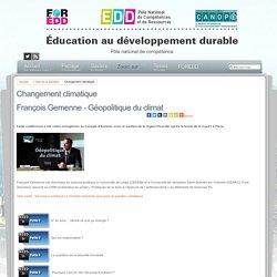 Éducation au développement durable - Changement climatique