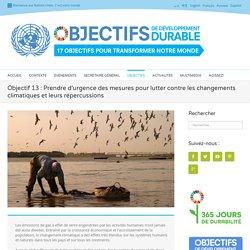 Objectif de Développement Durable - Changements Climatiques