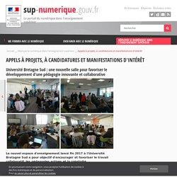 Université Bretagne Sud : une nouvelle salle pour favoriser le développement d'une pédagogie innovante et collaborative