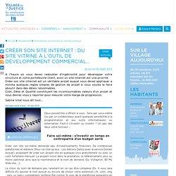 Créer son site internet : du site vitrine à l'outil de développement commercial...