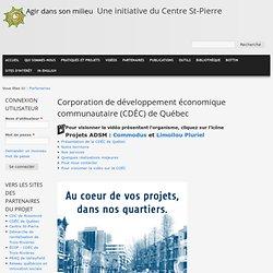 Corporation de développement économique communautaire (CDÉC) de Québec