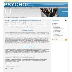 ESCP - Echelle du développement Communicatif