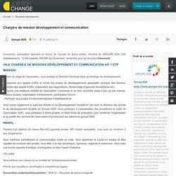 Chargé-e de mission développement et communication