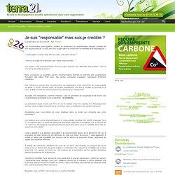Terra 21, Developpement Durable, Bilan carbone, eco-innovation, eco-conception, ACV, ISO 26000, RSE, eco-communication, DD, conseil, Nantes, loire atlantique, 44, pays de la loire, strategie, formation