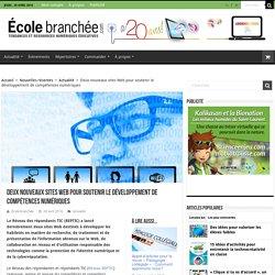 Deux nouveaux sites Web pour soutenir le développement de compétences numériques