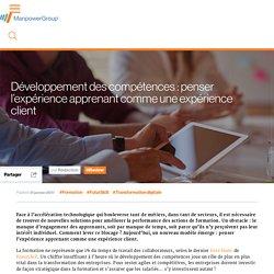 Développement des compétences: penser l'expérience apprenant comme une expérience client