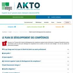 Établir le plan de développement des compétences - Intergros
