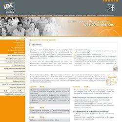 IDC - Evaluation de potentiels avec l'Institut pour le Développement des Compétences - Le Mans