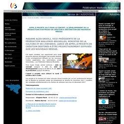 Détail d'une actualité-Appel à projets 2017 pour le concept, le développement ou la production d'un projet de création à destination des nouveaux médias