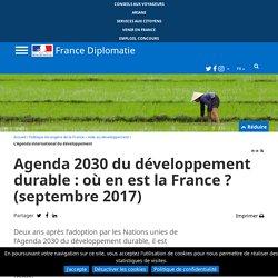 L'Agenda 2030 et les objectifs de développement durable (ODD) - France-Diplomatie - Ministère de l'Europe et des Affaires étrangères