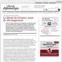 La liberté des femmes, atout du développement, par Amartya Sen (Le Monde diplomatique, septembre 2000)