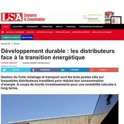 Développement durable : les distributeurs...