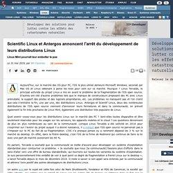 Scientific Linux et Antergos annoncent l'arrêt du développement de leurs distributions Linux, Linux Mint pourrait leur emboîter le pas