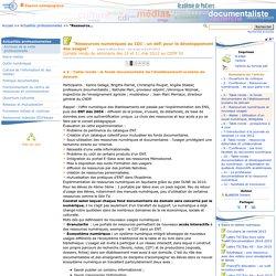 """""""Ressources numériques au CDI : un défi pour le développement des usages"""" - Page 2/6 - Les Enseignants Documentalistes de l'Académie de Poitiers"""