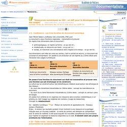 """""""Ressources numériques au CDI : un défi pour le développement des usages"""" - Page 5/6"""