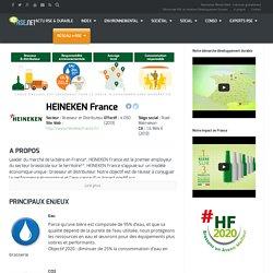 La RSE et le Développement Durable chez HEINEKEN France