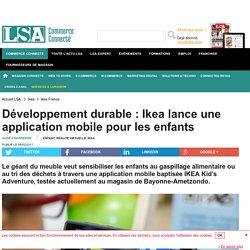 Développement durable : Ikea lance une...