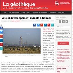 Ville et développement durable à Nairobi