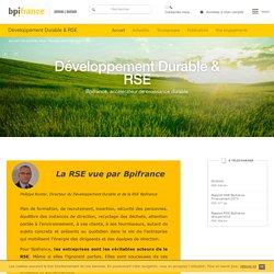 Développement Durable & RSE