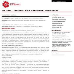 Développement durable : Tikibuzz