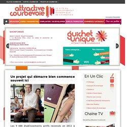 Site du Développement Economique et Emploi de la ville de Courbevoie
