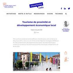 Tourisme de proximité et développement économique local