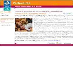 Un 7ème plan pour le développement des crèches - lettre électronique Caf de la Creuse