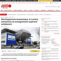 Développement économique. A Lorient, entreprises et enseignement supérieur collaborent - Lorient