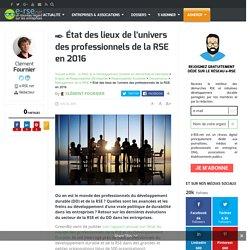 État des lieux de la RSE & du développement durable en entreprise