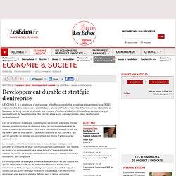 Développement durable et stratégie d'entreprise