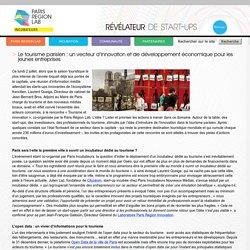 Le tourismeparisien : un vecteur d'innovation et de développement économique pour les jeunes entreprises