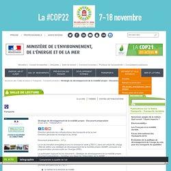 Stratégie de développement de la mobilité propre - Document préparatoire - Ministère de l'Environnement, de l'Energie et de la Mer