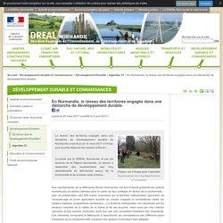 En Normandie, le réseau des territoires engagés dans une démarche de développement durable - DREAL Normandie - Ministère de l'Environnement, de l'Énergie et de la Mer