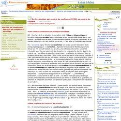 De l'évaluation par contrat de confiance (EPCC) au contrat de réussite - Page 4/4 - Centre Académique Recherche- Développement, Innovation et Expérimentation