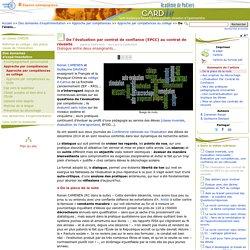 De l'évaluation par contrat de confiance (EPCC) au contrat de réussite- Centre Académique Recherche- Développement, Innovation et Expérimentation