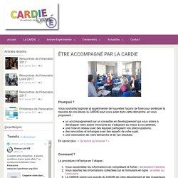 Être accompagné par la CARDIE – Centre académique recherche développement innovation expérimentation