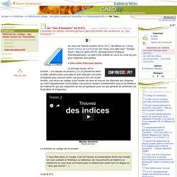 """Un """"Jeu d'évasion"""" en E.P.I.- Centre Académique Recherche- Développement, Innovation et Expérimentation"""