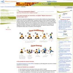 Et si on inversait la classe ?- Centre Académique Recherche- Développement, Innovation et Expérimentation