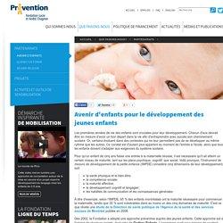 Avenir d'enfants pour le développement des jeunes enfants - Fondation Lucie et André Chagnon