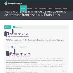 NETVA un programme de développement de startups françaises aux Etats-Unis