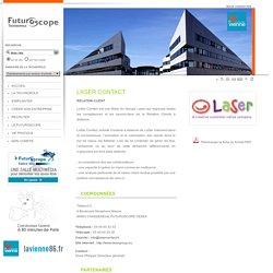 LASER CONTACT - Fiche entreprise - Développement économique, TIC, implantation d'entreprises - Technopole du Futuroscope