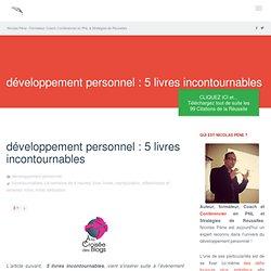 développement personnel : 5 livres incontournables